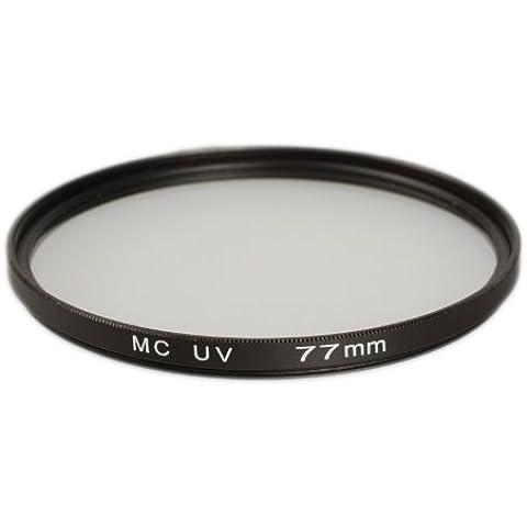 Ares fotográfico MC filtro UV múltiple 77mm para Sigma 50mm f1.4DG HSM | Art: 77mm Rosca de