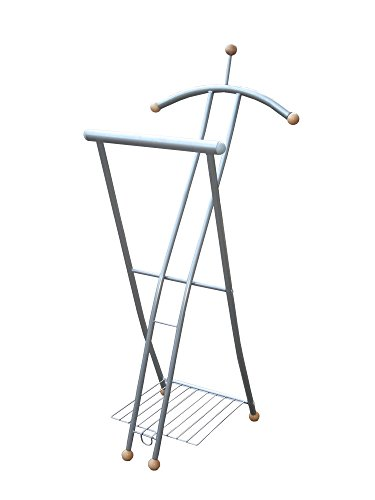 RRR Kleiderbutler - klappbar - hochwertige Metall  Holz Kombination