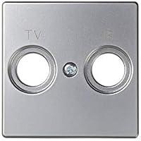Simon - 82053-33 tapa toma r-tv s-82 aluminio mate Ref. 6558233260