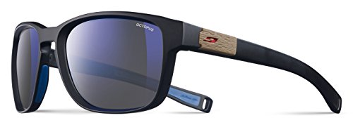 Julbo Paddle Sonnenbrille Unisex Erwachsene, Schwarz/Blau/Rot (Schwimmende Kordel Brillen)