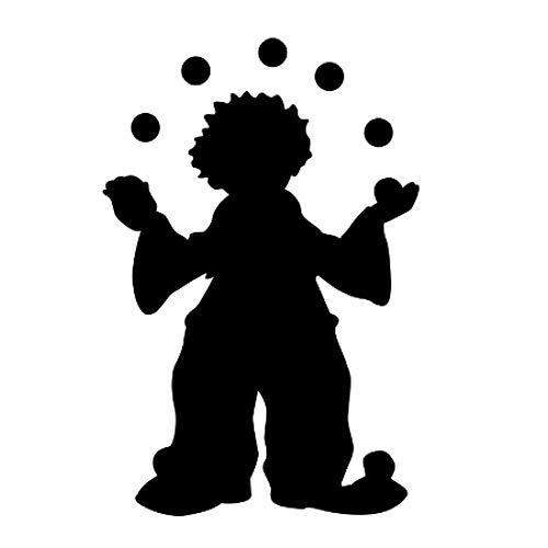 Zoom IMG-3 circo clown giocoleria wall sticker