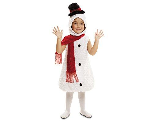Imagen de my other me  disfraz muñeco de nieve de peluche, 1 2 años viving costumes 202420