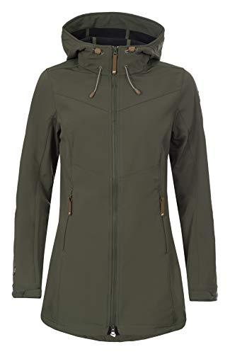 Icepeak Damen Tenley Softshell Jacke, grün, 38.0