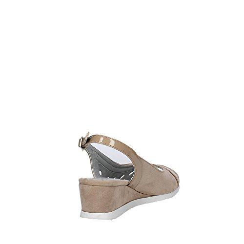Cinzia Soft 82553 Sandale Femme gris clair