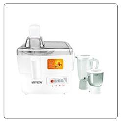 Maharaja Whiteline Primo DLX MX-103CA 500-Watt Mixer Grinder (White)