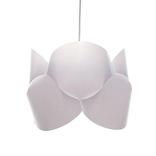 DESIGN DELIGHTS Suspension en Plastique BOUCLA Blanc Ø 37 cm
