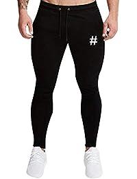 Hombres Joggers Casual Cordón Pantalones Deportivos Pantalon Impreso Pantalones,Pantalones Deportivos Casual Ropa Deportiva Pantalones Anchos Color Liso Pantalones de Chandal de Hombre