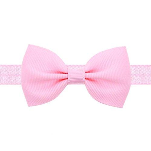 cinnamou Baby Stirnbänder verknotete Baby Stirnband Baby Top Knot, Baby Turban, Mädchen Headwrap Knot Stirnband Kleinkind Stirnband (Kostüm Prinzessin Softball)