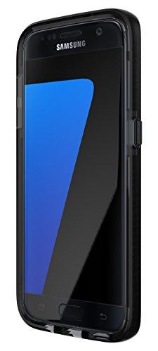 Tech 21 Evo Check Custodia Resistente apoplessia Un'Ampia di Protezione Impatto con Tecnologia Flex Shock e Motivo a Quadretti per Samsung Galaxy S7 - Smokey/Nero