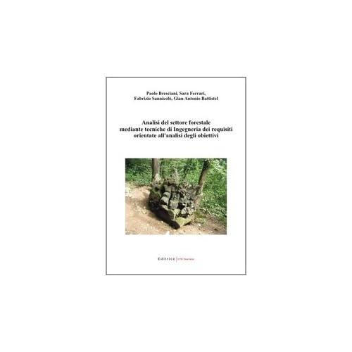 Analisi Del Settore Forestale Mediante Tecniche Di Ingegneria Dei Requisiti Orientate All'analisi Degli Obiettivi
