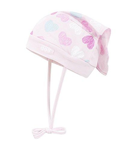 Döll Baby-Mädchen Mütze Kopftuch Jersey, Rosa (Pink 2720), 45