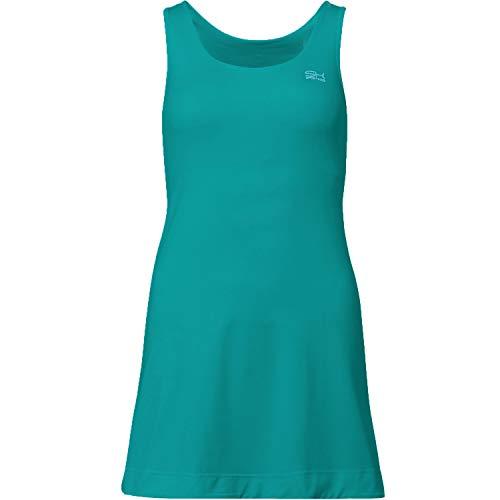 Sportkind Mädchen & Damen Tennis/Hockey/Golf Trägerkleid, Petrol grün, Gr. 152