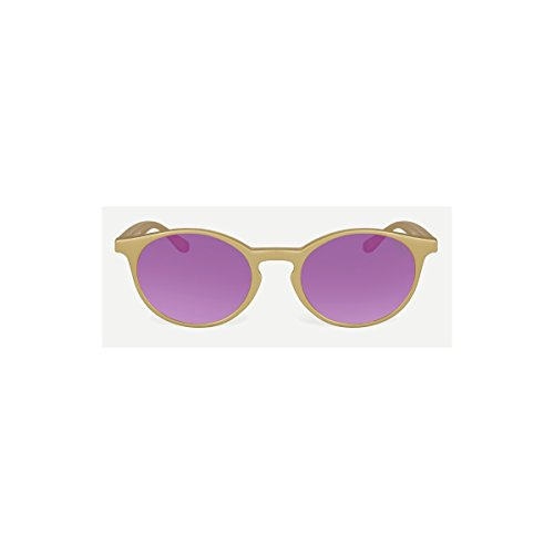 Gafas de sol Gilda Flat Flash | Color Oro | Lentes Plano seductor Morado | Saraghina | Gilda FL flsh-179pr0