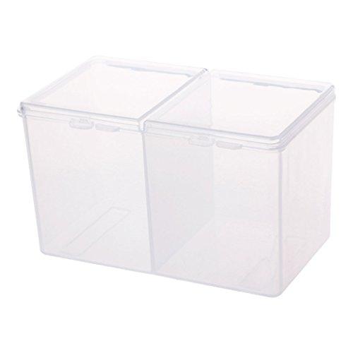 Remover Papier Make-Up Wattepad Aufbewahrungsbox Strass Nail Art Tools Container