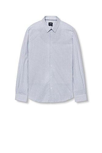 ESPRIT Collection Camicia Uomo Blu (Navy 400)