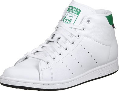 adidas Stan Winter White White Green Blanc
