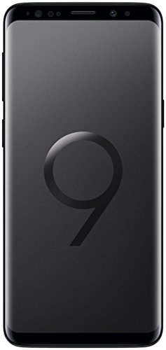 "Samsung Galaxy S9 64GB 5.8"" 12MP SIM-Free Smartphone in Midnight Black Certified Refurbished"