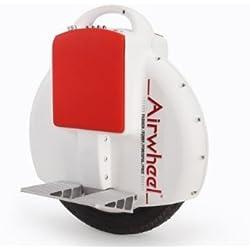 Airwheel Una rueda Auto Equilibrio eletric monociclo kilometraje es mejor que Solowheel 9.7kg el más ligero del mundo (Blanco)