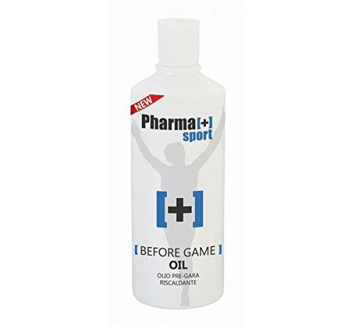 Olio riscaldante pre-gara ml 500 per massaggio sportivo