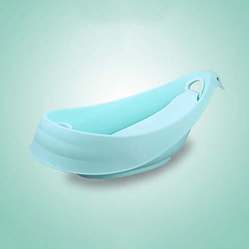 Sdzq Vasca da Bagno in Plastica per Bambini (Color : Green)