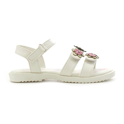 ecb5f8cd9b88 Walkright Girls White Touch Fasten Flower Sandal - Buy Online in Oman.