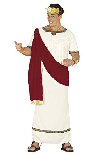 Fiestas Guirca Kostüm römischen Senator Augustus (Gold Toga Kostüm)