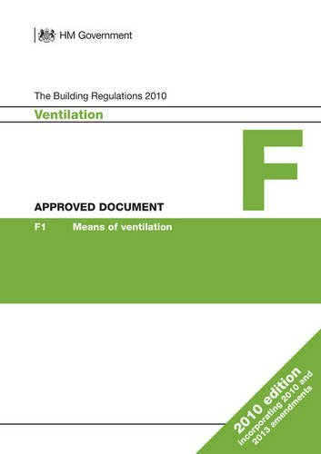 Approved Document F: Ventilation (2010 edition incorporating 2010 and 2013 amendments)