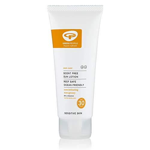 Green People Crème Solaire Bio SPF30 sans Parfum 200ml