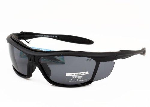 Xtreme Plus Herren-Sonnenbrille, polarisiert, Schaumstoff-gepolstert, für Angeln, Sport etc.