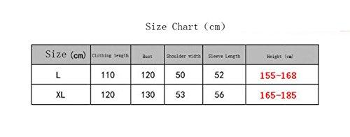 Startseite Herren-und Damen-Freizeit-Baumwoll-Toweling Erwachsene Schal Kragen Bademantel Bademantel Bademantel Pyjamas Nachthemd # 4