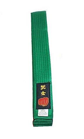 sito web professionale qualità perfetta nuovo stile Cintura per karate e arti marziali varie: taekwondo, judo, kickboxing, ju  jitsu, stile shotokan, Green