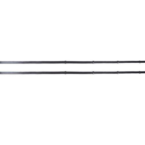 Waldhausen Lederzügel, extra lang, 166 cm, schwarz