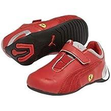 ba97a629b Puma Zapatillas Ferrari niño rojo talla 27