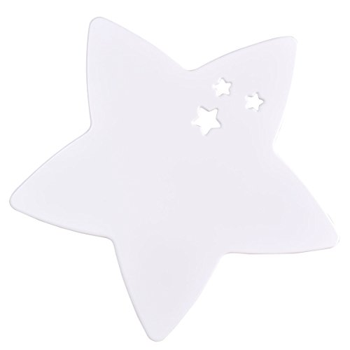 Ein Stern-wandleuchte (bainba Wandleuchte Form Sterne 47 x 47 cm weiß)