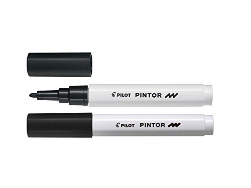 Pilot Pigmentmarker Pintor, fein Fein Schwarz