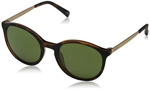 Pepe Jeans Damen Garnet Sonnenbrille, Braun (Tortoise/Green), 49.0