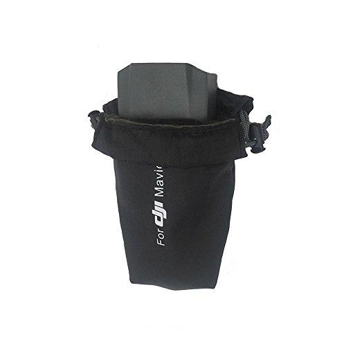 Remote Storage (Flycoo Tasche Wasserdicht für DJI Mavic Pro Drone Body Remote Control Battery Storage Sleeve Pouch Carrying Drawstring Bag Pouch (S: for battery))