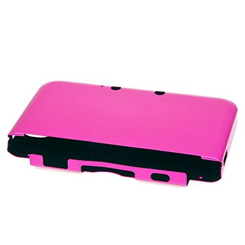 TOOGOO(R) Aluminium Tasche Case Cover Schutzhuelle fuer Nintendo 3DS XL LL Peachblow