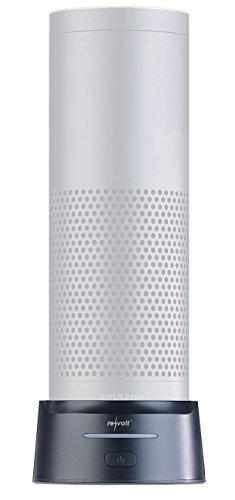 reVolt Echo Akku: 2in1-Powerbank für Amazon Echo 1 und USB-Geräte, 10.000 mAh, Tragegurt (Alexa Powerbank)