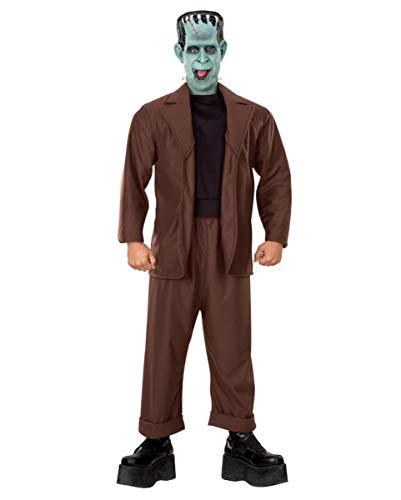 Horror-Shop Lizenziertes Herman Munster Kostüm für Halloween & Karneval Standard