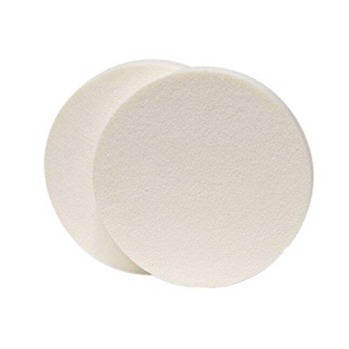 PIXNOR 10pcs maquillage éponge Blender houppette (blanc)