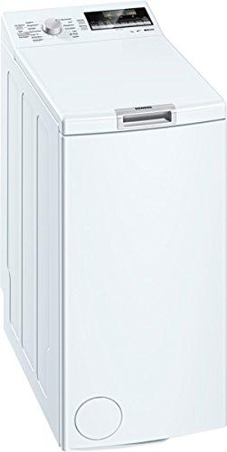 Siemens iQ500 WP12T447 Toplader / 7,00 kg / A+++ / 174 kWh / 1.200 U/min / aquaStop mit lebenslanger Garantie / Hygiene Programm / Outdoor Programm /