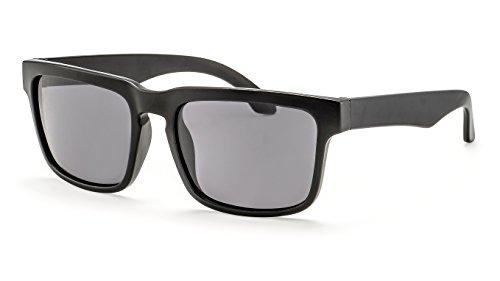 Filtral Flat-Top Herren Sonnenbrille/Eckige schwarze Sonnenbrille mit polarisierten Gläsern F3025109