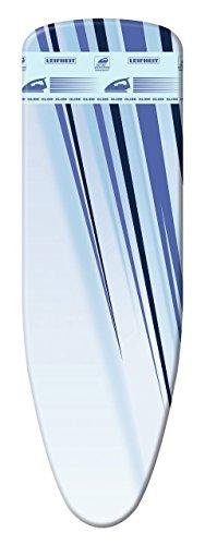"Leifheit 71609 Bügeltischbezug ""Thermo Reflect Glide S/M"", 125 x 40 cm, farbsortiert"