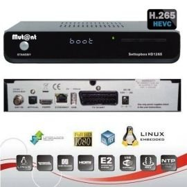 Mutant HD1265 Full HDTV H.265 Linux E2 1x DVB-S2 Sat Receiver