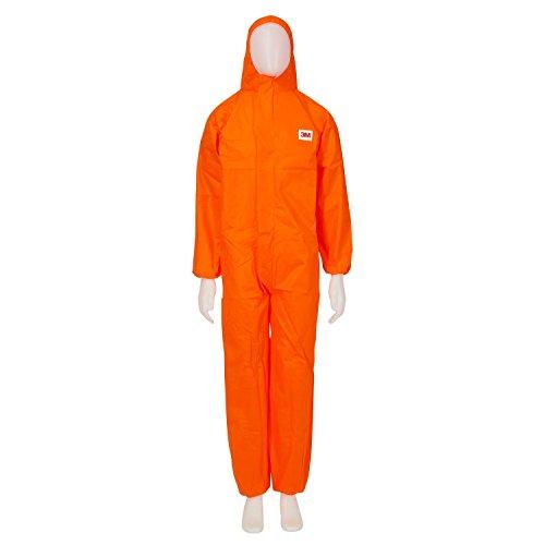 3M™ 4515 Indumento di protezione 5/6, SMS Polipropilene, Arancio, taglia M