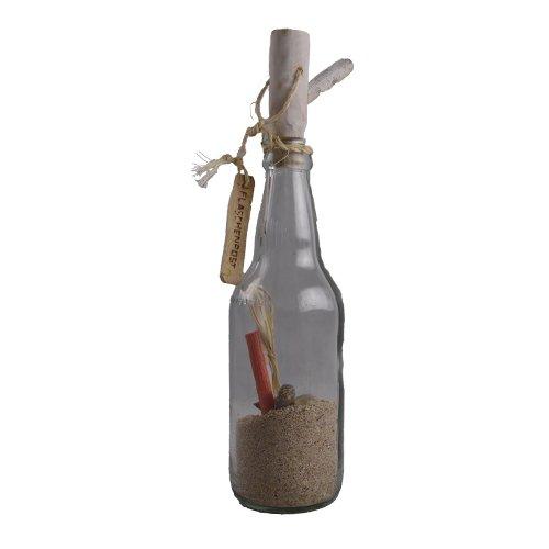 osters muschel-sammler-shop Flaschenpost - gefüllt mit Sand und Muscheln und Schnecken - ideal als Mitgebsel oder als Einladung zu Einer Party