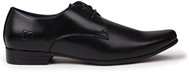 Giorgio Herren Langley Schuhe Derby Schnürschuhe Halbschuhe Genähtes Detail