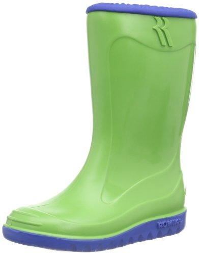 Romika Little Bunny, Unisex-Kinder Gummistiefel, Grün (Lime-blau 646), 26 ()