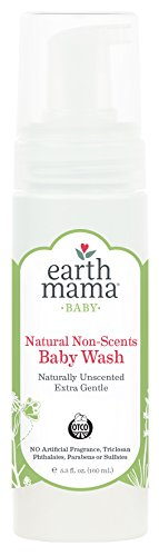 Earth Mama Angel Baby Natural Non-Scent Shampoo and Body Wash, 1er Pack (1 x 160 ml)